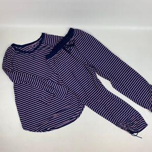LOVE by GAP Pajama Set Long Pants Long Sleeve Top